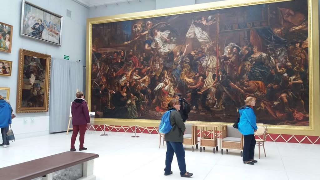 W galerii